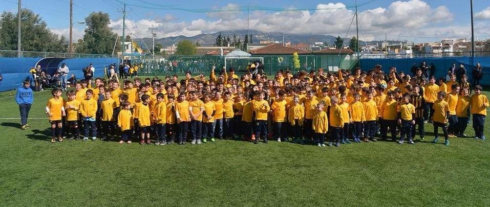 Με Σιμόες και Λόπες η γιορτή των Ακαδημιών Futsal της ΑΕΚ