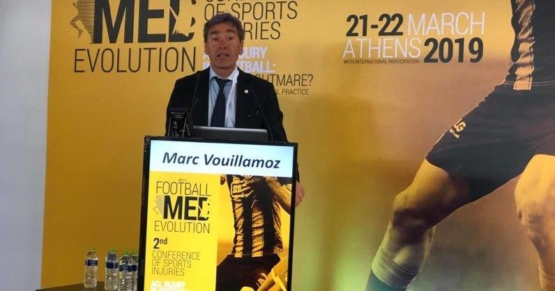 H UEFA στο Ιατρικό Συνέδριο της ΑΕΚ (ΦΩΤΟ)