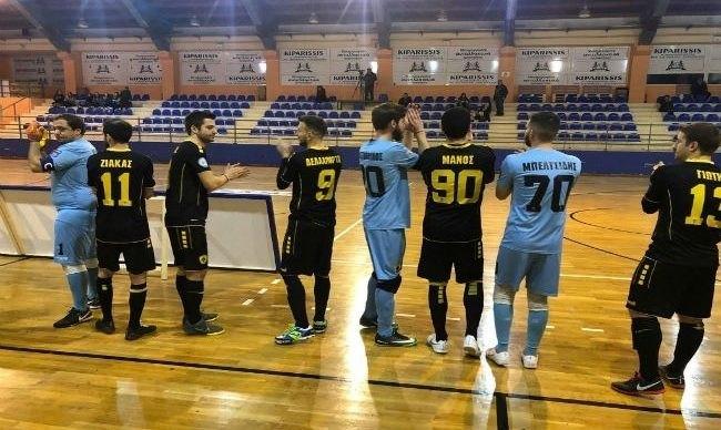 Εκανε το πρώτο βήμα για τα ημιτελικά η ΑΕΚ στο Futsal