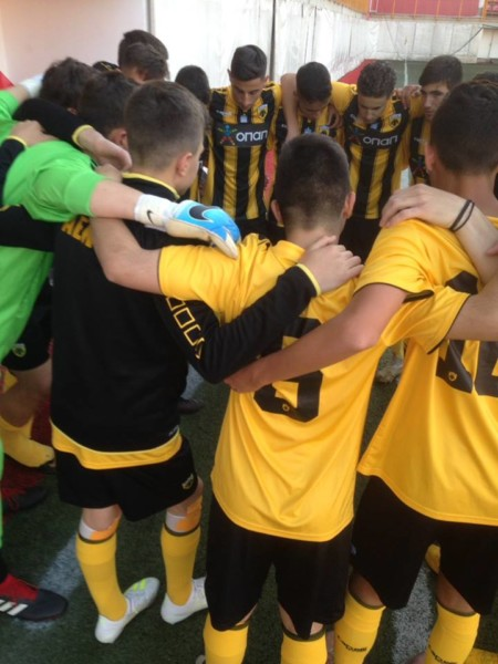 Ισοπαλία για την ΑΕΚ Κ16 στο Βελιγράδι