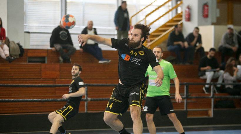 Με το δεξί η ΑΕΚ στα play-off, επικράτησε του Διομήδη με30-17