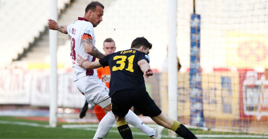 ΑΕΚ - Λάρισα 0-1 (ΤΕΛΙΚΟ)