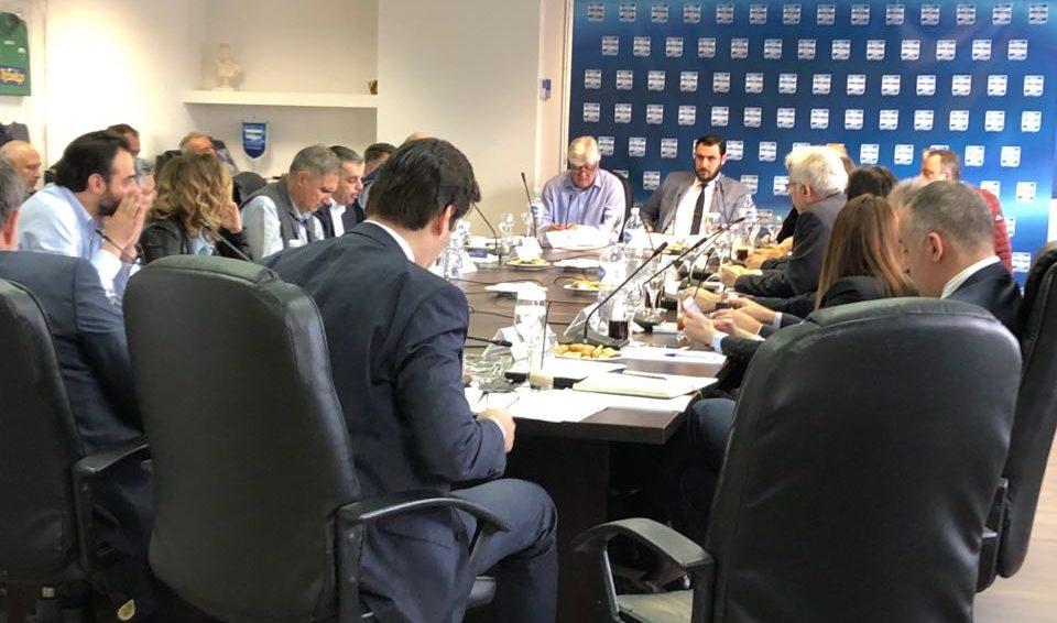 Η πρώτη συνεδρίαση της Super League υπό την προεδρία του Μηνά Λυσάνδρου! (ΦΩΤΟ)