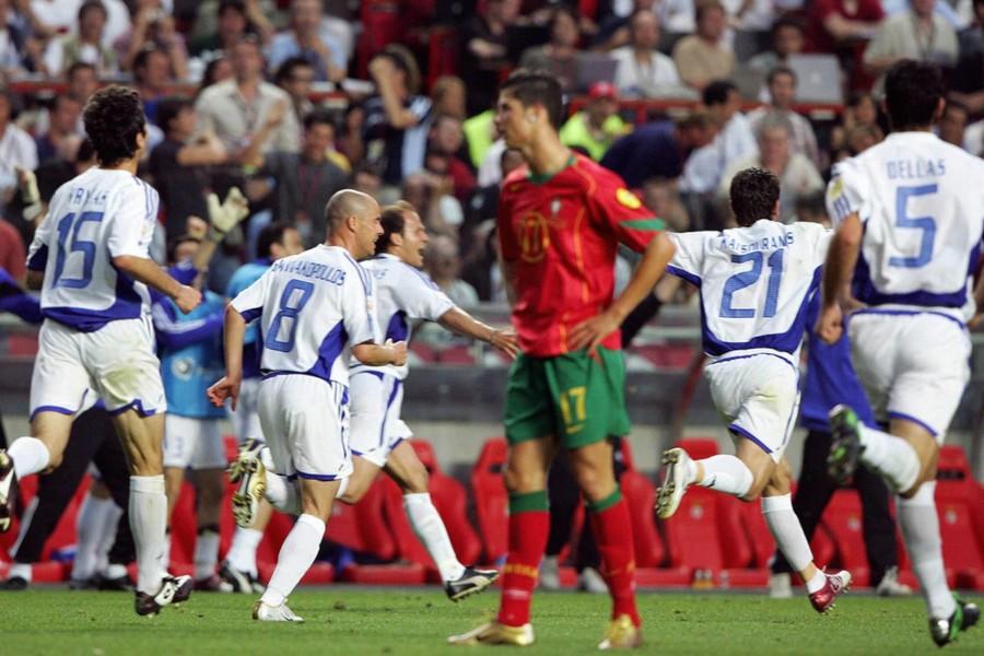 Επαφές με Κριστιάνο και Φίγκο για φιλικό Ελλάδα-Πορτογαλία με αύρα 2004