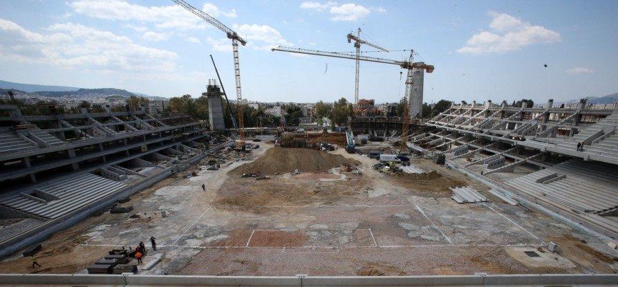 """ΔΕΟΣ: Ο πρώτος σχηματισμός αγωνιστικού χώρου στην """"Αγιά Σοφιά""""! (ΦΩΤΟ-VIDEO)"""