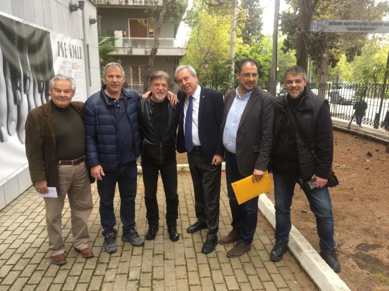 Ο Γιάννης Βούρος στις εκλογές της Ερασιτεχνικής ΑΕΚ! (ΦΩΤΟ)