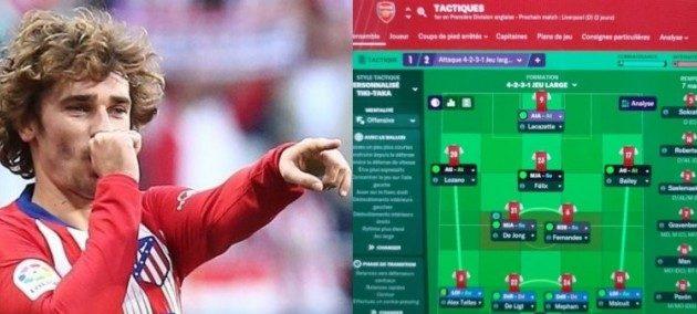 O Γκριεζμάν έχει τον Παπασταθόπουλο στην ομάδα του στο Football Manager (ΦΩΤΟ)