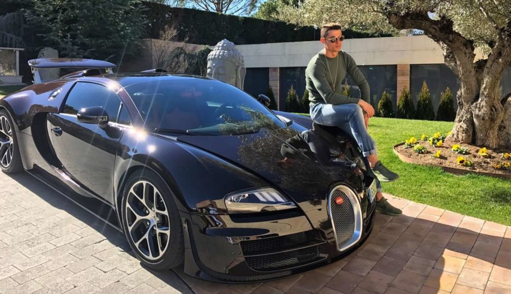 Το νέο αυτοκίνητο του Ρονάλντο αξίας 11.000.000 ευρώ (ΦΩΤΟ)