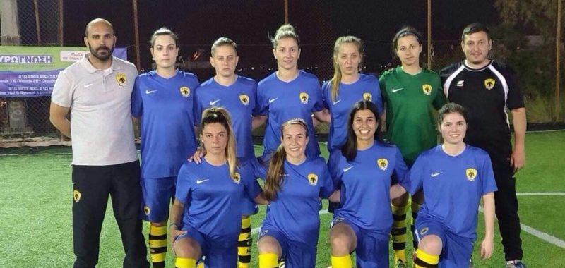 Η γυναικεία ομάδα AEK Futsal συνέτριψε με 21-0 την Καλλιθέα!