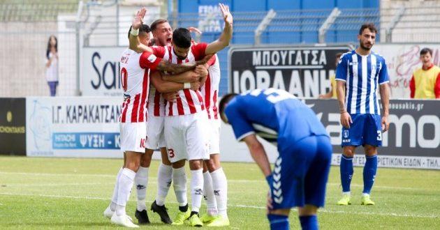 Football League: Στα μπαράζ ανόδου ο Πλατανιάς - Υποβιβάστηκε ο Ηρακλής!