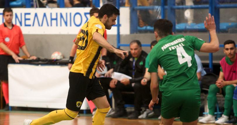 Ατυχη η ομάδα Futsal της ΑΕΚ στην Κυψέλη, ήττα με 2-1 από τον Παναθηναϊκό