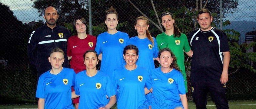 Σάρωσε η γυναικεία ομάδα AEK Futsal στον πρώτο της αγώνα!