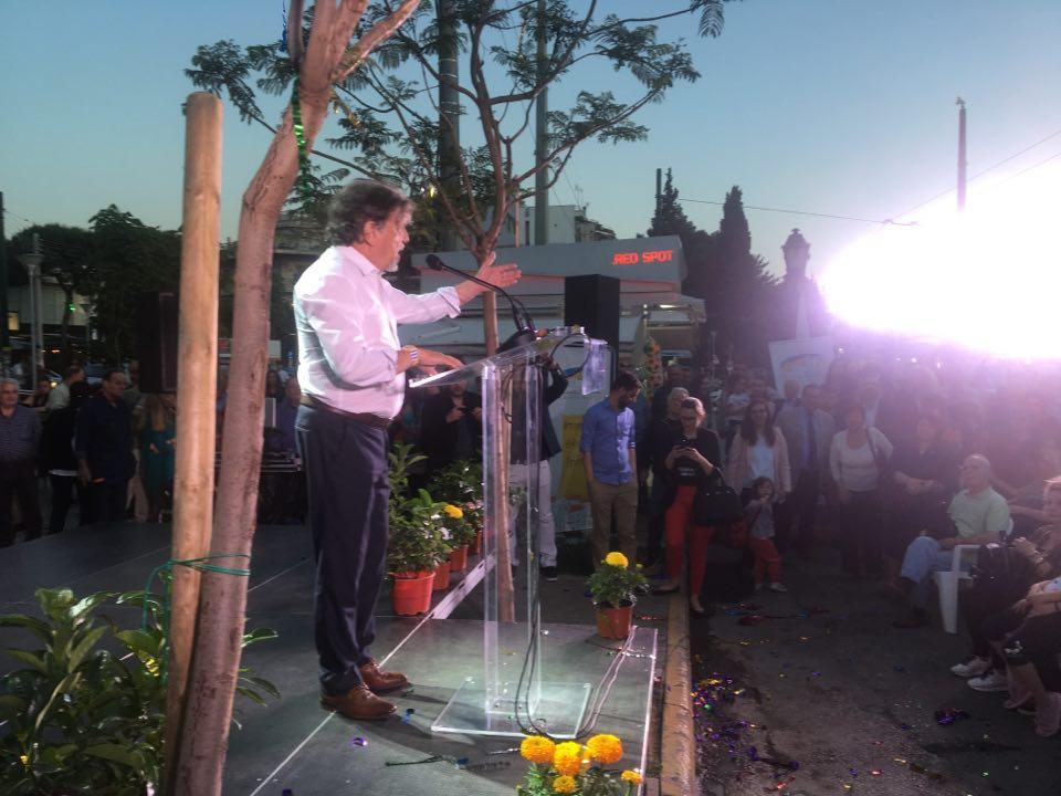 Πλήθος κόσμου στην προεκλογική συγκέντρωση του Γιάννη Βούρου- Παρών και ο Ασλανίδης (ΦΩΤΟ)