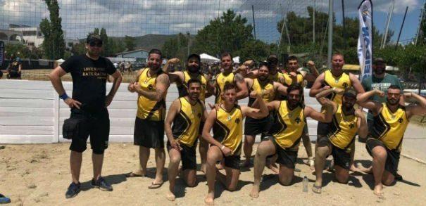 Ξεχώρισε και στο Beach Rugby η ΑΕΚ (ΦΩΤΟ)