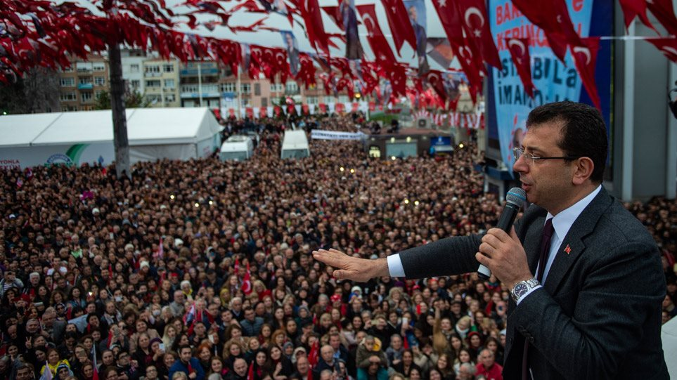 Καβγάδες στην Τουρκία για την... υποτιθέμενη ελληνική καταγωγή του Ιμάμογλου (VIDEO)