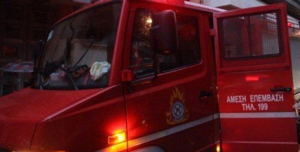 Πέραμα: Φωτιά σε πλοίο-Μεγάλη κινητοποίηση της Πυροσβεστικής