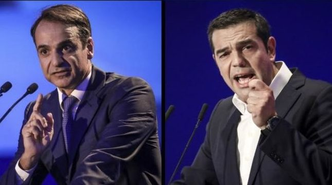Μπροστά η ΝΔ με διαφορά στα exit polls (ΦΩΤΟ)