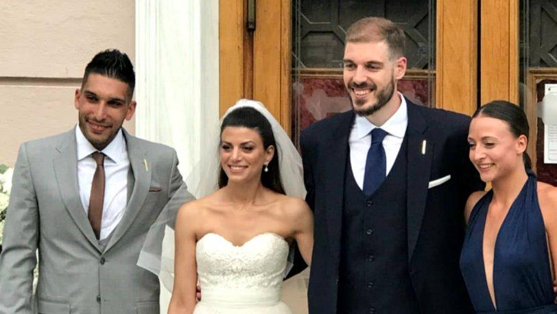 Παντρεύτηκε ο Ζήσης Σαρικόπουλος- Παρόντες στον γάμο του οι Τσαλμπούρης-Μαυροειδής  (ΦΩΤΟ)