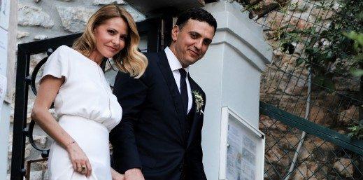 Παντρεύτηκαν Βασίλης Κικίλιας και Τζένη Μπαλατσινού (ΦΩΤΟ)