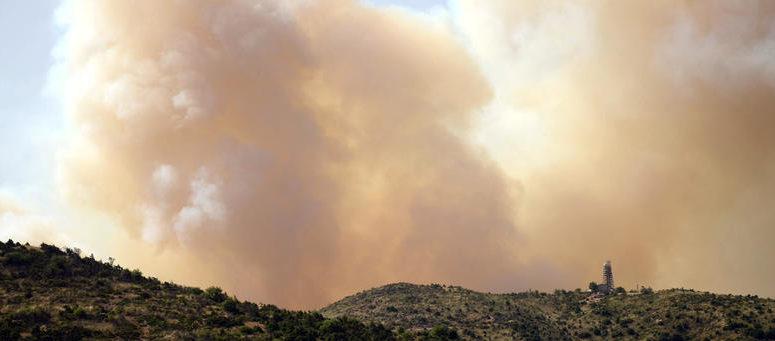 Δύο πυρκαγιές στην περιοχή της Λάρισας