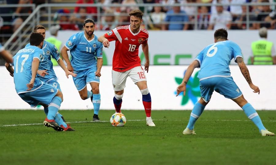 Με 9-0 διέλυσε το Σαν Μαρίνο η Ρωσία