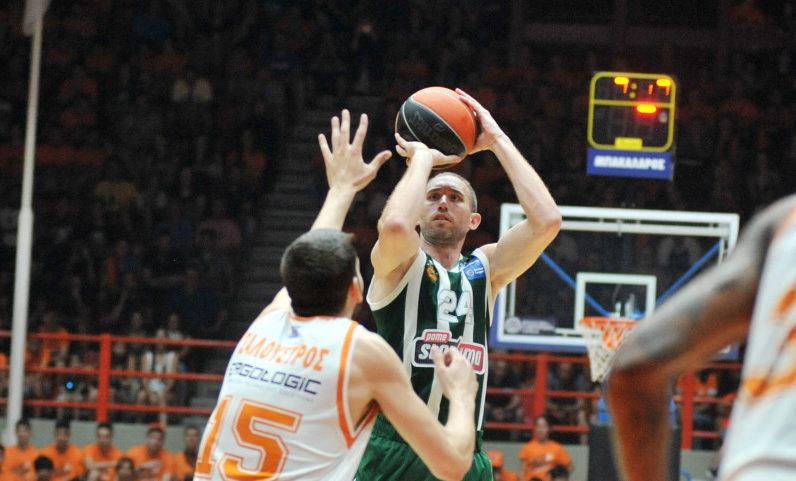 Basket League: Νίκη στην Πάτρα για τον Παναθηναϊκό και 2-0