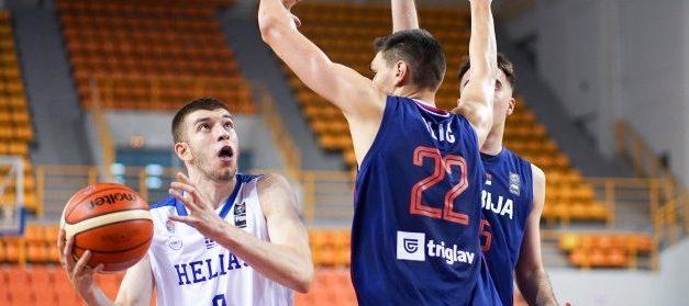 Τα highlights της Εθνικής U19 και του Ρογκαβόπουλου κόντρα στη Σερβία (VIDEO)