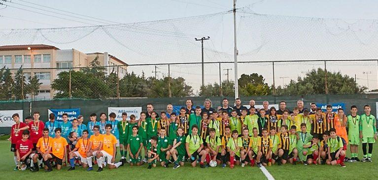 Στο τουρνουά των Aθλητικών Aκαδημιών ΟΠΑΠ η Κ12 της ΑΕΚ (ΦΩΤΟ)