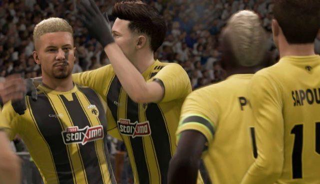 Ντέρμπι για την ομάδα FIFA 11vs11 της ΑΕΚ κόντρα στην FIFA Hellas