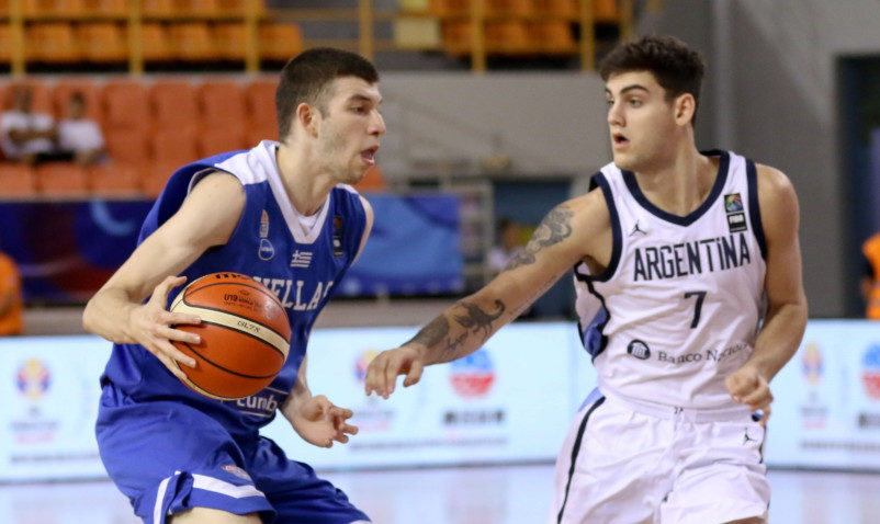 Ήττα... αυτοκτονία για την Εθνική Ελλάδος U19 κόντρα στην Αργεντινή