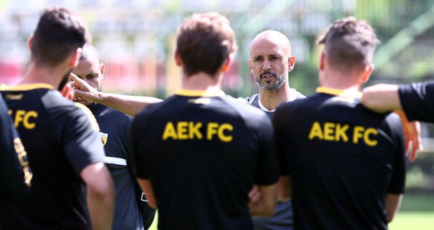 Η 11αδα της ΑΕΚ στο πρώτο φιλικό της με την Γκόρνικ Ζάμπρζε (ΦΩΤΟ)