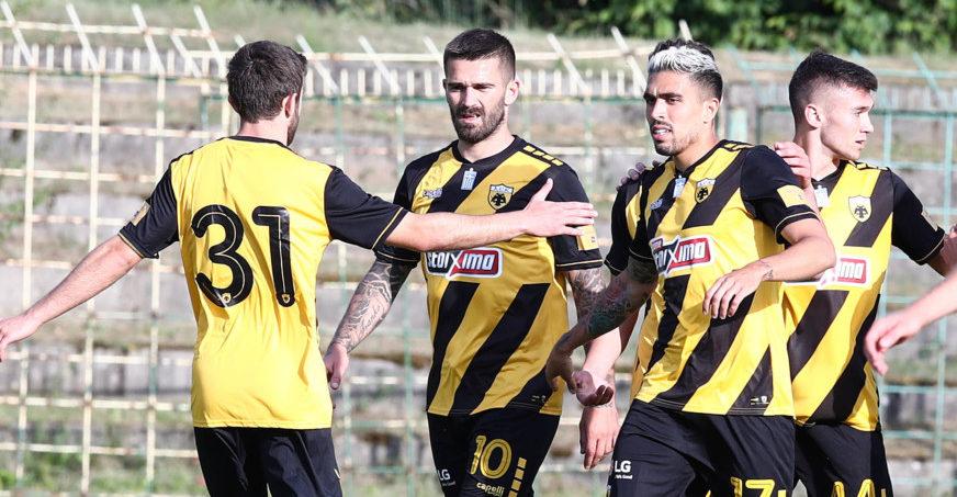Φάσεις και γκολ από το Γκόρνικ Ζάμπρζε - ΑΕΚ 0-1 (VIDEO)