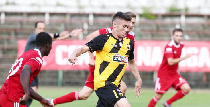 AEK - Σταλ Σταλόβα 1-1 (ΤΕΛΙΚΟ)