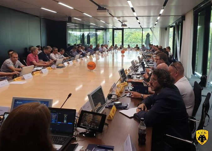 Η ΑΕΚ στην πρώτη μέρα εργασιών του BCL στη Γενεύη (ΦΩΤΟ)