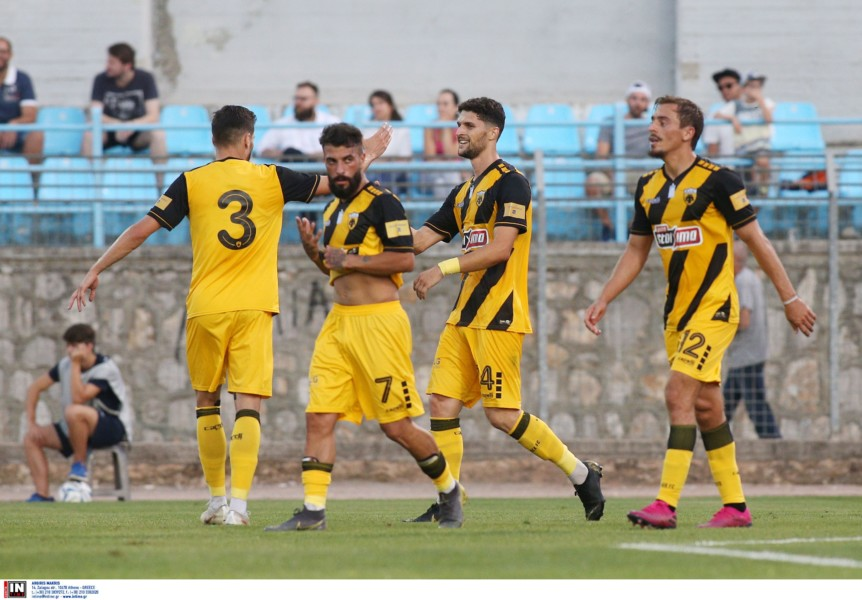 «Μαγεία» Ζεράλδες στη Λαμία, 1-0 με γκολ όνειρο η ΑΕΚ!