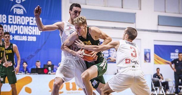 "Eurobasket U18: Η Λιθουανία απέκλεισε την Σερβία, στους ""8"" η Μεγάλη Βρετανία"