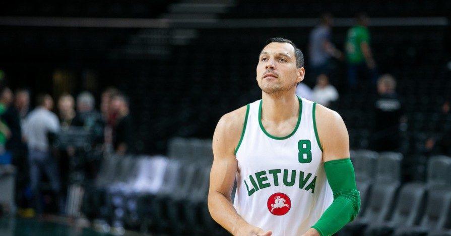 Mε τη ρετρό φανέλα της Λιθουανίας ο Ματσιούλις (ΦΩΤΟ)