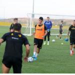 Εικόνες από την προπόνηση της ΑΕΚ πριν από το ματς με την Κραϊόβα