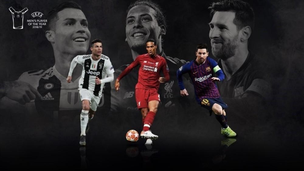 Μέσι, Ρονάλντο ή Φαν Ντάικ ο καλύτερος παίκτης της UEFA