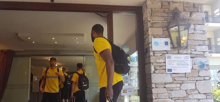 Αυτά είναι τα δωμάτια των παικτών της ΑΕΚ στην Πορταριά