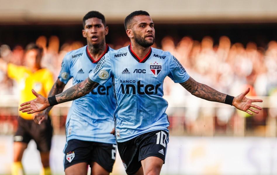 Γκολ στο ντεμπούτο του με τη Σάο Πάουλο ο Ντάνι Άλβες (VIDEO)