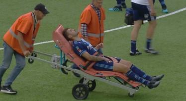 Τραυματίστηκε σοβαρά ο Αϊντάρεβιτς (ΦΩΤΟ-VIDEO)