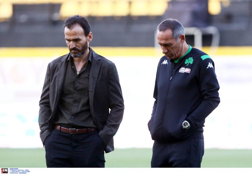 «Μάντρωσε» τους παίκτες του Παναθηναϊκού στο Κορωπί ο Νταμπίζας