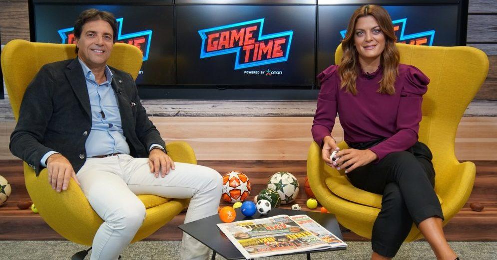 Χάρης Κοπιτσής στο Game Time του ΟΠΑΠ: «Κλειδί» για την ΑΕΚ ο Λιβάγια στο ντέρμπι με τον ΠΑΟΚ (ΦΩΤΟ-VIDEO)