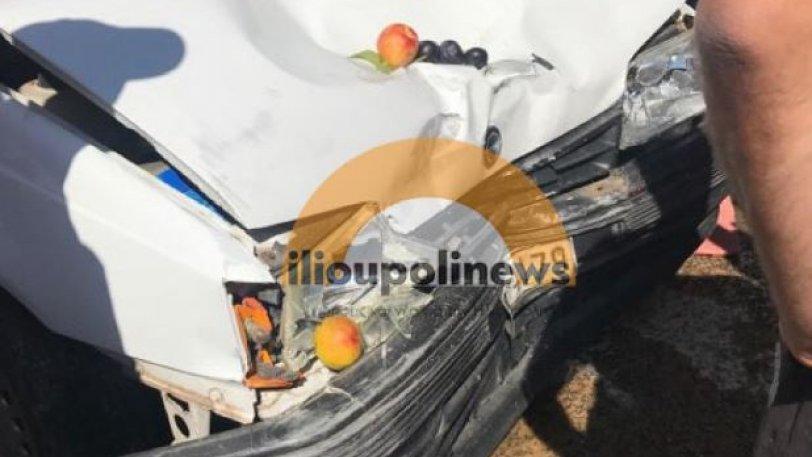 Αυτοκίνητο έπεσε πάνω σε κόσμο στη λαϊκή αγορά της Ηλιούπολης