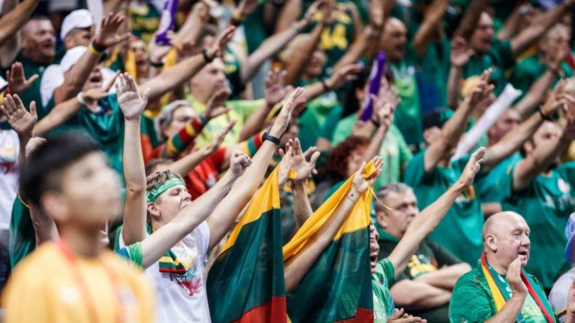 Λιθουανοί φώναζαν «F*** you FIBA»! (ΦΩΤΟ)