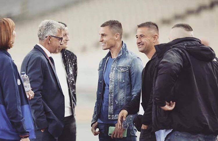Επίσκεψη στην προπόνηση της Εθνικής Βοσνίας ο Βράνιες
