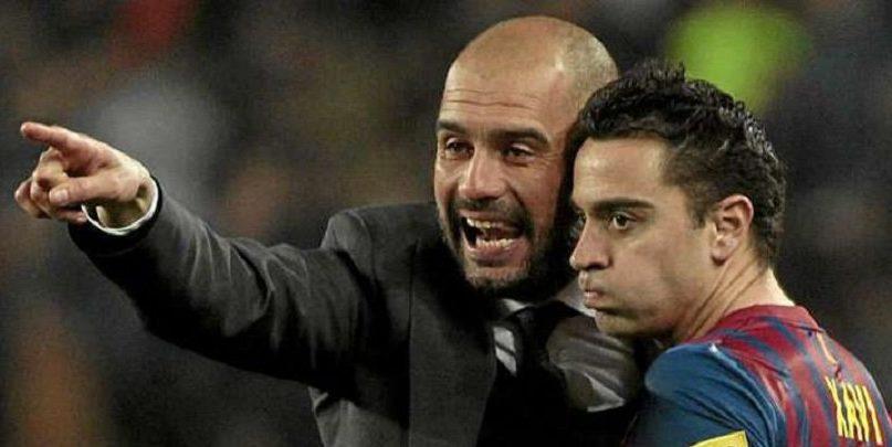 Γκουαρντιόλα: «Αργά ή γρήγορα ο Τσάβι θα γίνει προπονητής της Μπαρτσελόνα»