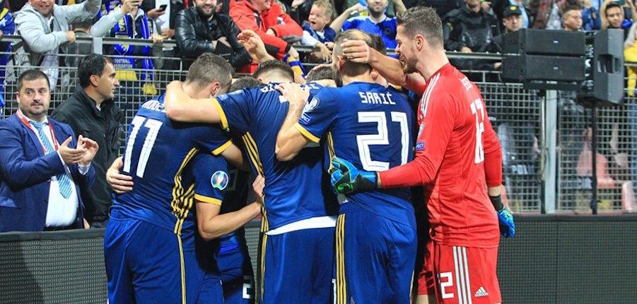 Προκριματικά Euro 2020: Ισοπέδωσε... τη Φινλανδία η Βοσνία (4-1)