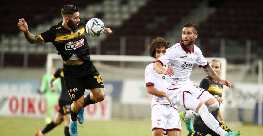 Λάρισα - ΑΕΚ 0-0 (ΤΕΛΙΚΟ)